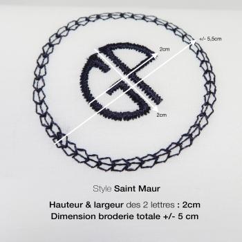 3 Mouchoirs bio français tissé en France avec vos initiales brodées par philippegaber mouchoirs personnalisés