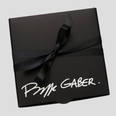 Set of 3 organic personalised handkerchiefs made in Paris France by Philippe Gaber  ©philippegaber