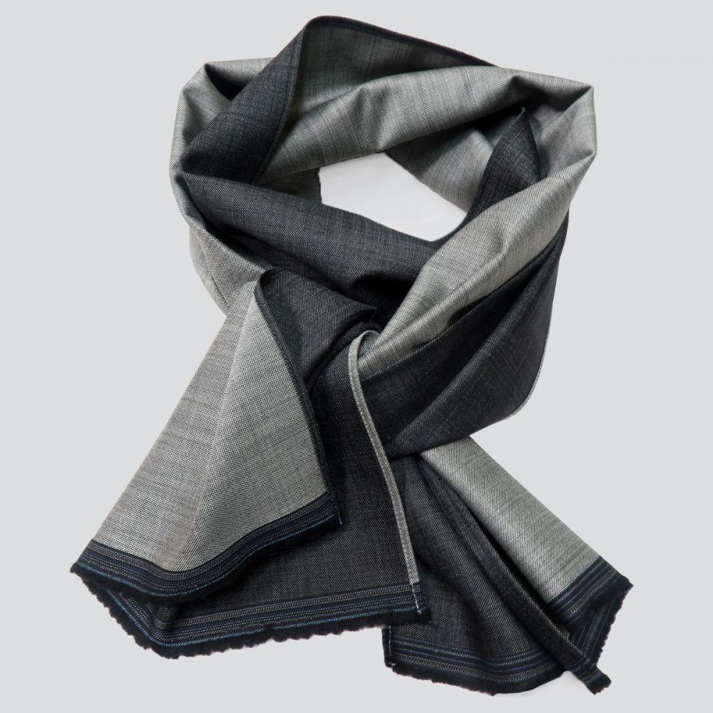 Winter night in Paris scarf