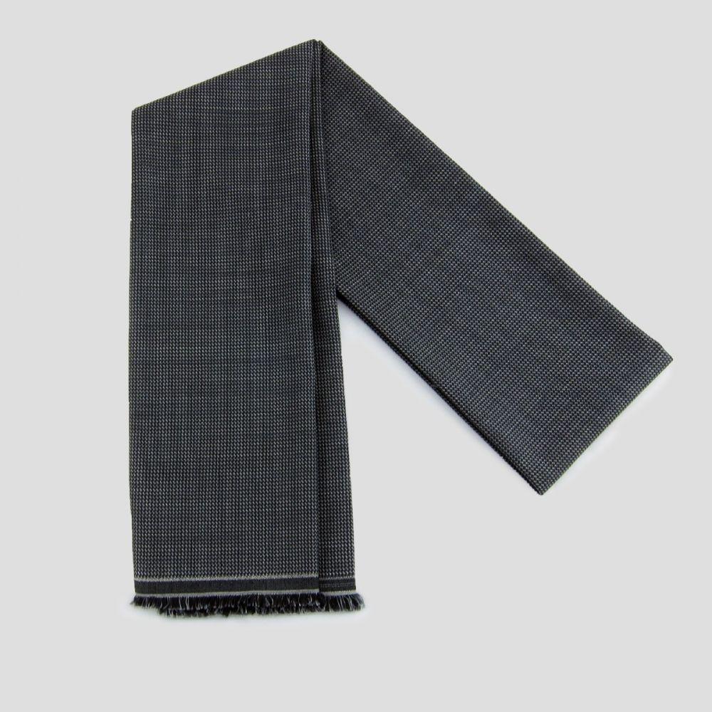 Foulard laine & soie écharpe luxe made in France pour homme & femme Paris philippegaber