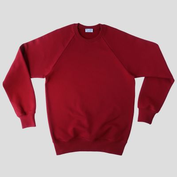Organic sweatshirt embroidered