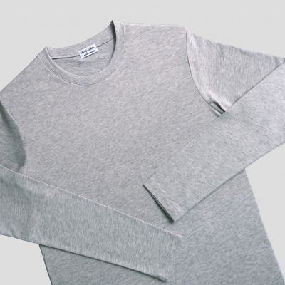 Organic crew neck t-shirt Made in France, ethical fashion made in Paris by philippegaber Men & women organic t-shirt since 2009 ©philippegaber