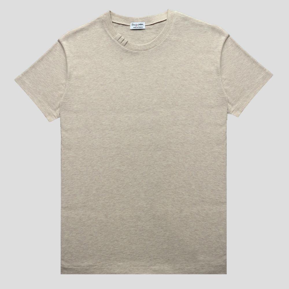 T-shirt coton bio Gots fabriqué au 71 Rue Saint Maur Paris par PhilippeGaber un t-shirt éthique homme & femme Made in France