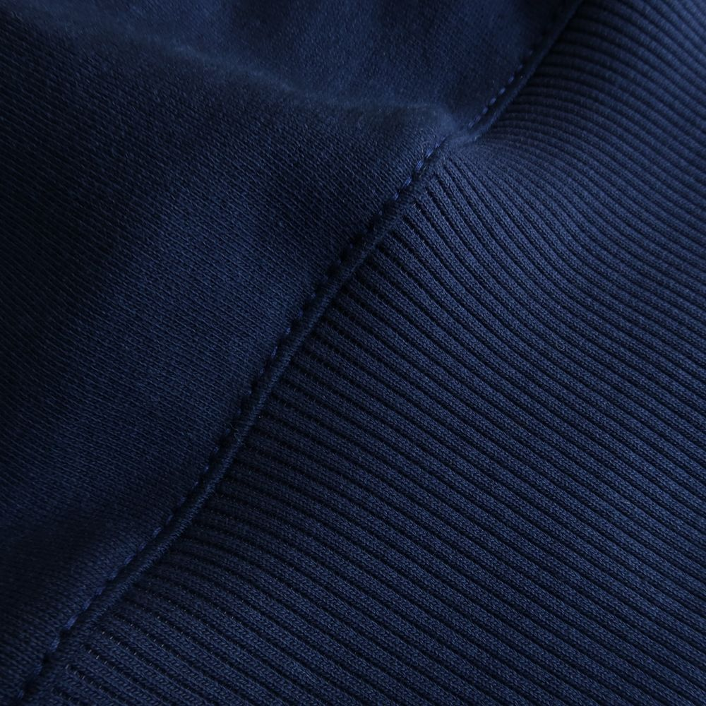 Sweat-shirt bio bleu marine Made in France sweat-shirt bio Homme et femme fabriqué à Paris par PhilippeGaber