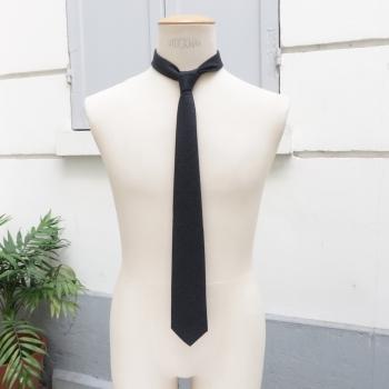 Cravate laine & cachemire 1950 et Fait Main à Paris par PhilippeGaber cravate luxe Made in france