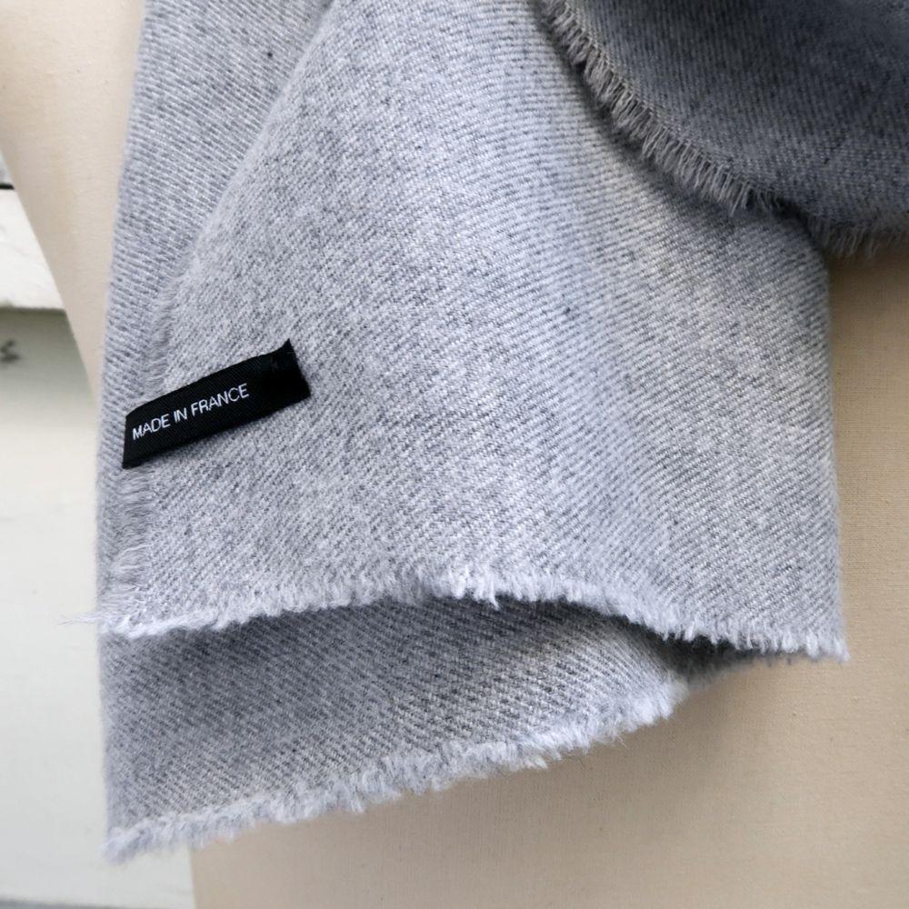 Echarpe luxe Paris en pure laine vierge pour homme et femme Philippe Gaber écharpe made in France