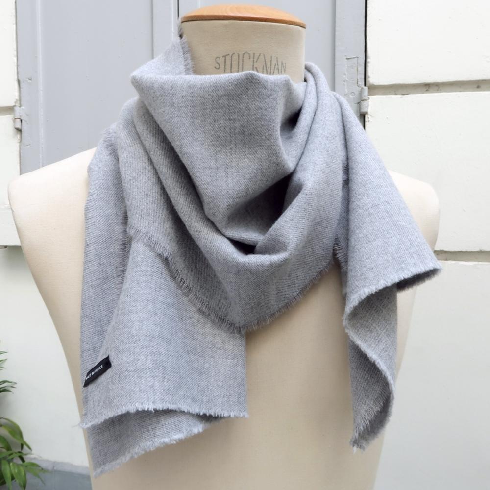 Dots Wool & silk scarf
