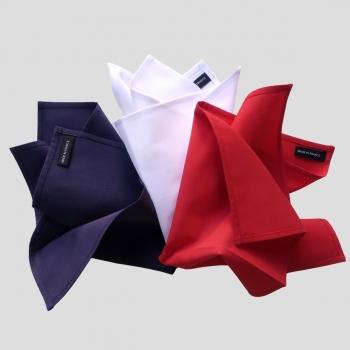 mouchoirs tissu made in France mouchoirs coton bio français certifiés Gots, fabriqués à Paris  par Philippe Gaber