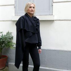 Echarpe nuit d'hiver parisienne 100% cachemire Paris philippe gaber