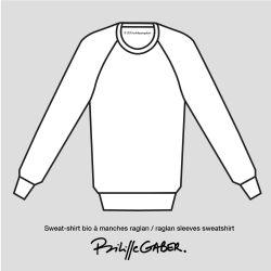 Sweat-shirt Made in France et bio version Coffret Cadeau, offrez un sweat-shirt  personnalisé fabriqué à Paris par philippeGaber