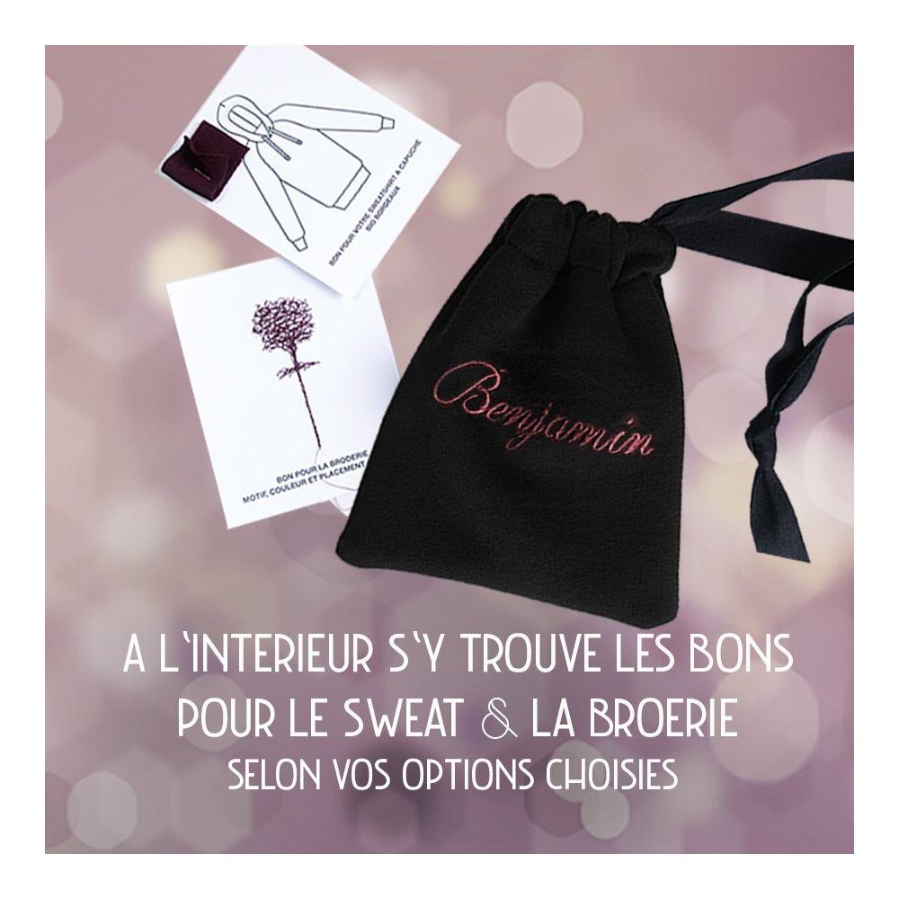 Offrez un sweat-shirt bio Made in France Coffret cadeau Noel surprise PhilippeGaber