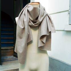 Echarpe luxe Paris Pure laine Vierge Merinos écharpe  homme et femme Philippe Gaber