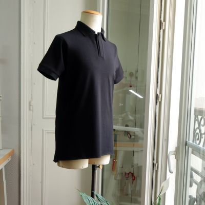 71 Saint Maur embroidered Organic T-shirt