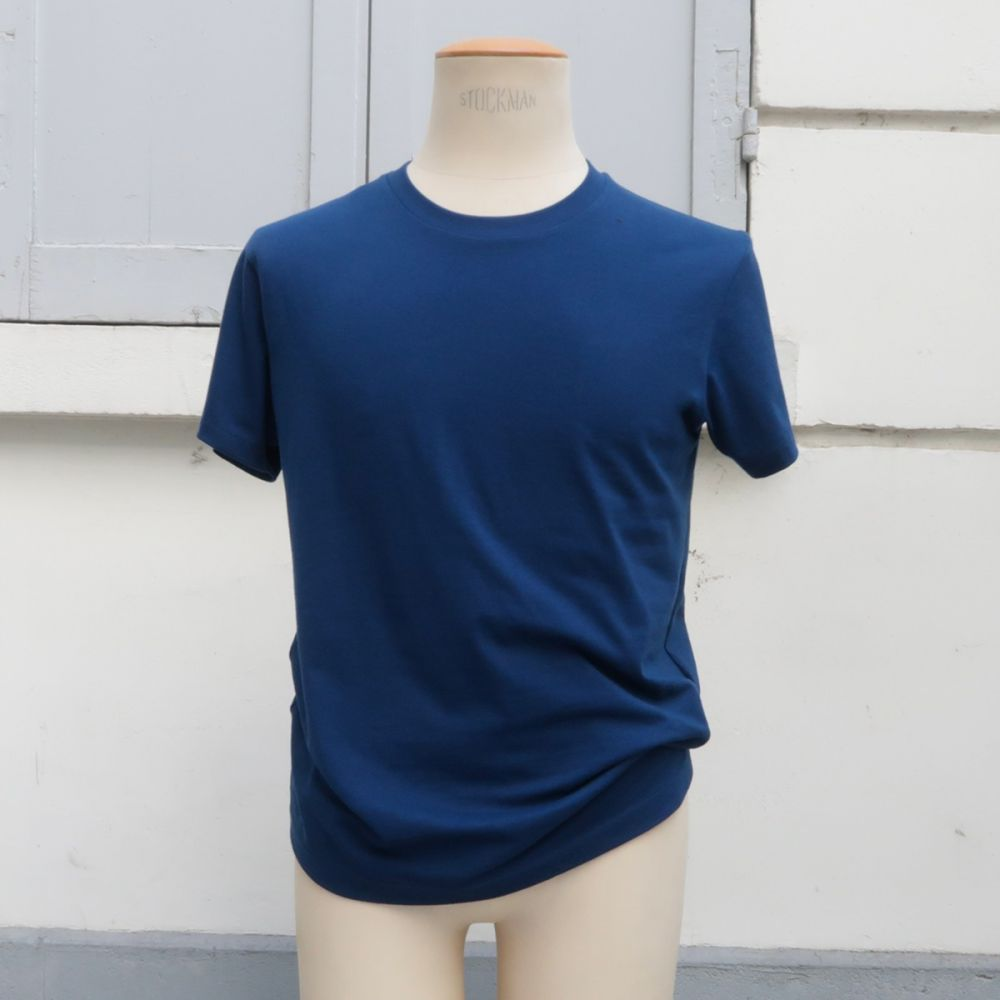 Organic crew neck t-shirt Made in France, ethical fashion made in Paris by philippegaber Men & women organic t-shirt since 2009