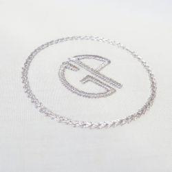 3 mouchoirs coton bio français personnalisé broderie de vos initiales style parisien fabriqué à Paris par PhilippeGaber
