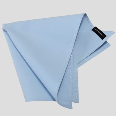 3 Handkerchiefs  40*40cm in organic cotton batiste woven in France