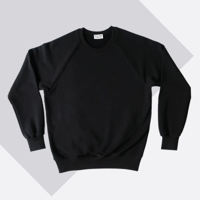 Black Organic sweatshirt...