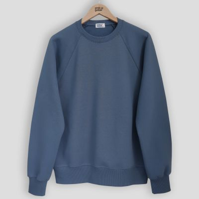 organic sweatshirt 100% Gots Cotton sweat for men & women ethically made in Paris France by PhilippeGaber