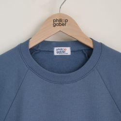 organic sweatshirt 100% Gots Cotton sweat for men & women ethically made in Paris by PhilippeGaber ©philippegaber