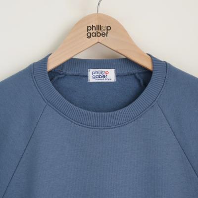 sweat-shirt Ciel parisien 100% coton biologique Gots fabriqué avec éthique à Paris par PhilippeGaber Made in France