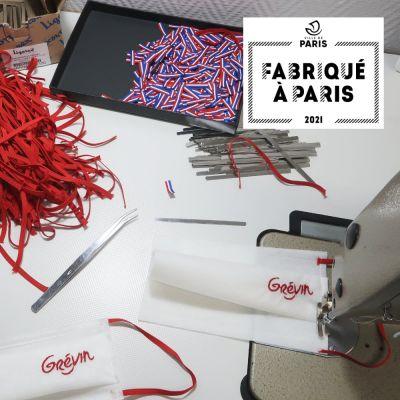 Masque Grévin Paris avec label Fabriqué à Paris  fabriqué à Paris par PhilippeGaber