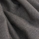 Brown wool & silk woven scraf 2M