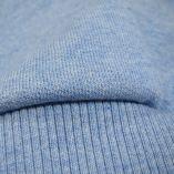 Sweat capuche coton bio col V fabriqué à Paris