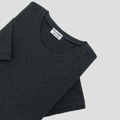 Organic T-shirt for 3 folds on left sleeve Made in Paris
