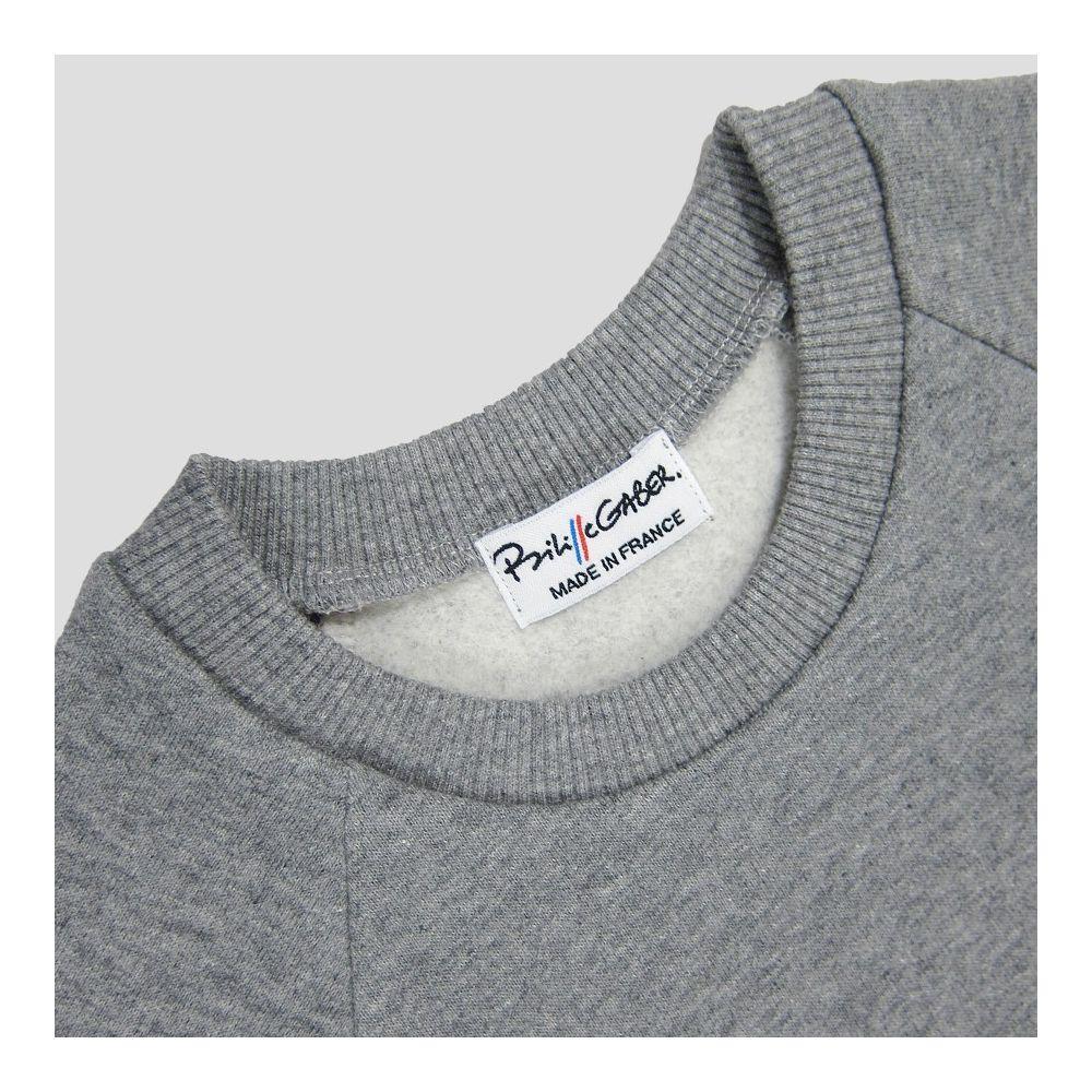 sweat-shirt éthique et bio pour l'homme et la femme fabriqué à Paris philippegaber sweat-shirt made in france