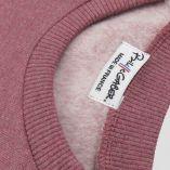 유기농 소녀와 소년 땀이 셔츠, 캥거루 주머니. 프랑스 제 아동용 윤리적 스웨터.