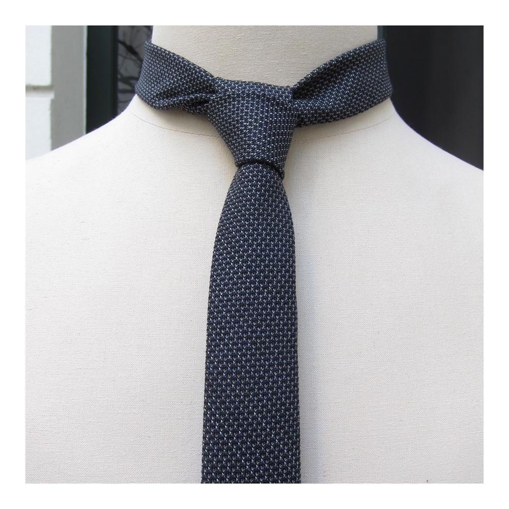 Cravate luxe Laine & soie micro-fantaisie  Cravate Fait Main à Paris par philippegaber, cravate Made in france