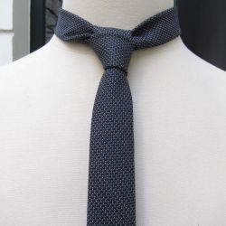 파리-수제-울-실크-넥타이 Wool & Silk handmade necktie Made in France