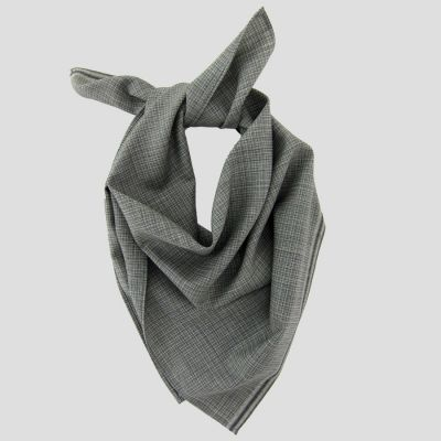 Mohair & silk square scarf for men and women Made in France