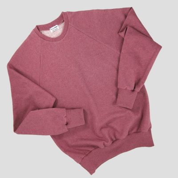 sweat-shirt en coton bio Gots rose sweatshirt éthique homme femme made in france Paris éthique et de fabrication française