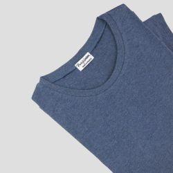 T-shirt Bio Made in France homme femme Poche 3 plis fabriqué avec éthique à Paris par Philippe Gaber