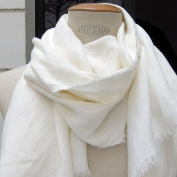 Foulard lin bio Gots made in France philippegaber