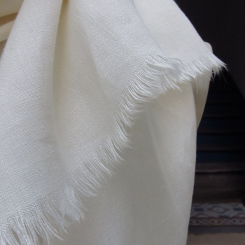 Foulard lin bio Gots made in France philippegaber