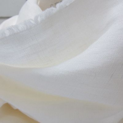 Organic Linen scarf Gots certified & Made in France for men and women.