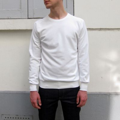 Sweat-shirt bio homme femme fabriqué avec éthique à Paris par Philippe Gaber sweat-shirt bio Made in France