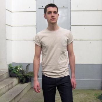 T-shirt Bio Made in France, Tee-shirt bio fleur de coton Gots homme femme, mode éthique fabriqué à Paris par Philippe Gaber