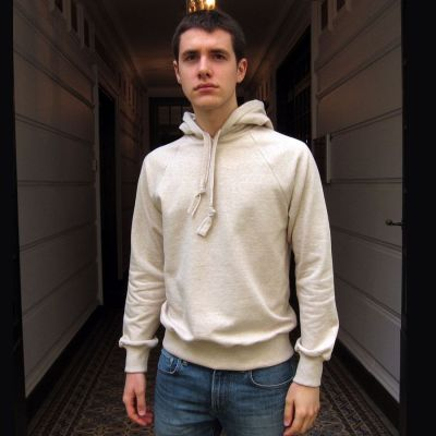 Organic Sweatshirt Made in France men and women ethical fashion Philippe Gaber