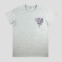 T-shirt bio français Made in France t-shirt brodé homme femme Mode éthique Made in France Philippe Gaber