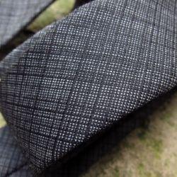 Cravate luxe laine et soie graphique Cravate Fait Main à Paris par philippegaber, cravate Made in france
