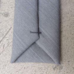 Gray sky from Paris in 1937 handmade Necktie in Paris ©philippegaber
