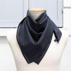 écharpe luxe Paris homme et femme laine soie made in France Philippe Gaber