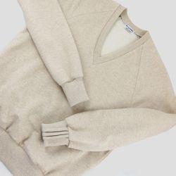 Sweat-shirt bio français pour homme et femme Mode éthique écoreposnable Made in France par Philippe Gaber