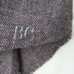 Vos initiales brodées sur votre écharpe