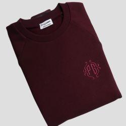 Faites broder vos initiales, un mot, un # ou votre @instagram sur votre Sweat-shirt bio Made in france fabriqué avec éthique à P