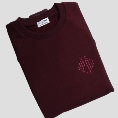Your monogram embroidered on your philippegaber scarf made in France ©philippegaber