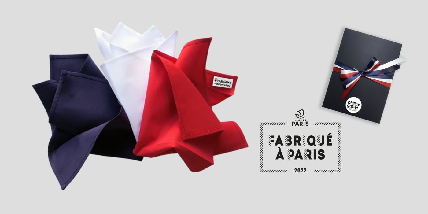 Organic Handkerchiefs Made in France by PhilippeGaber